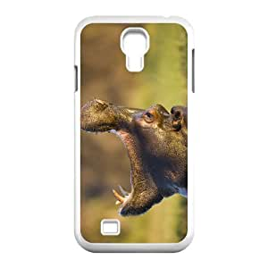 Cool PaintingFashion Cell phone case Of Hippo Bumper Plastic Hard Case For Samsung Galaxy S4 i9500