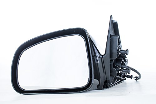 Driver Side Mirror for Pontiac Grand Prix (2004 2005 2006 2007 2008) Black Power Adjusting Non-Heated Non-Folding Outside Rear View Replacement Left Door Mirror Grand Prix Power Side Door