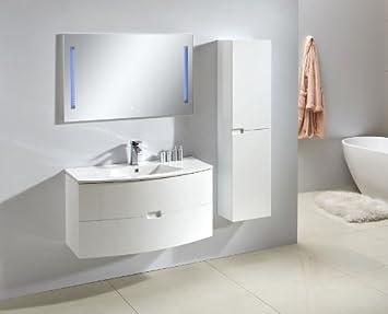 Badezimmermöbel weiß  Badmöbel Set ALBA 100 in weiß: Amazon.de: Küche & Haushalt