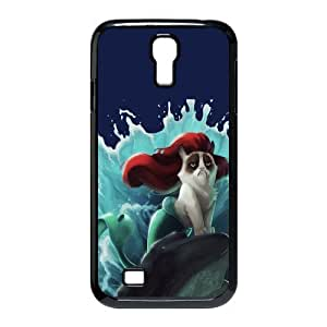 Mystic Zone Grumpy Cat Cover Case for Samsung Galaxy S4 Hard Cover Cartoon Fit Cases SGS0131