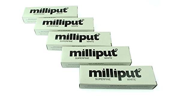 5 x Milliput extrafina blanco. Ideal para modelado, restauración y Escultura. (x1018d) fosforito: Amazon.es: Bricolaje y herramientas
