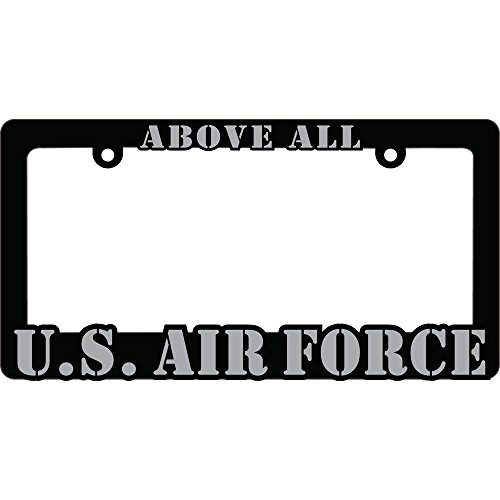 US Air Force Proud to Serve Auto License Plate Frame USAF