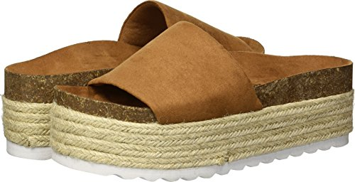 Dirty Laundry by Chinese Laundry Women's Pippa Espadrille Wedge Sandal, Whiskey Suede, 8 M US