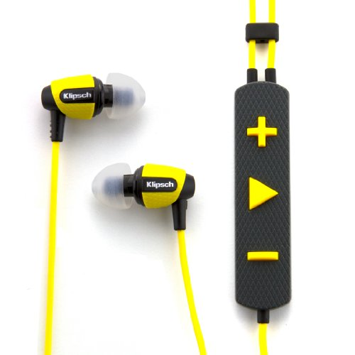 Klipsch Image S4i Rugged - Yellow All Weather In-Ear Headphones