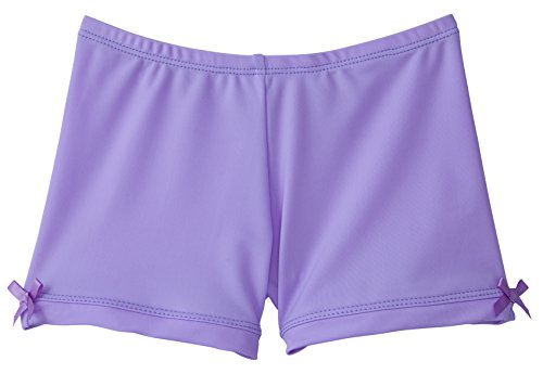 Monkeybar Buddies Girls' Shorts for Under Dresses 3t Lavender by Monkey Bar Buddies