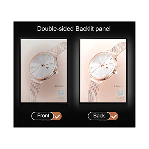 Double-Sided LED Backlit Poster Frame with Two 24