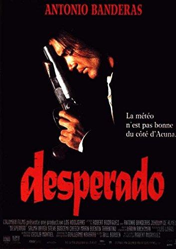 Desperado-1994-Antonio Banderas, 40 x 56 cm Cartel Cinema ...