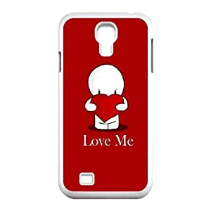 Samsung Galaxy S4 9500 Cell Phone Case White love me 227 D3F1ZM
