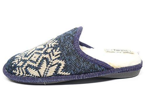 VANITY Men's Slippers Blue 4VXDP5