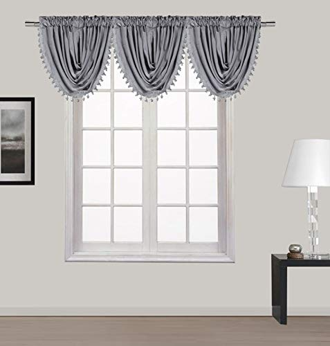 ABeautifulSeller New Luxury Waterfall Decorative Trim Window Valance (55