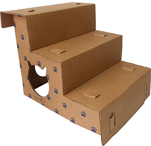 Imperial Cardboard Cat Step and Play Pet Steps