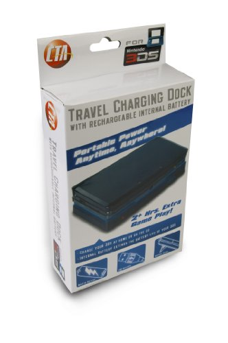 CTA Digital Nintendo 3Ds External Power Supply and Charging Dock