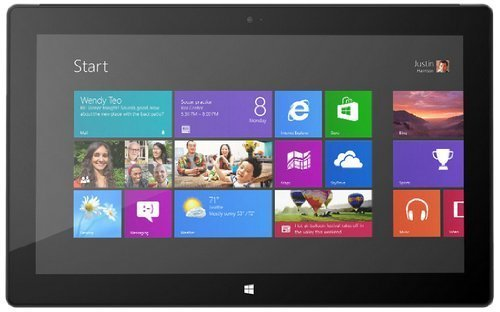 Microsoft Surface Pro 10.6-Inch Tablet P6T-002 Intel Dual-Core i5-3317U Processor, Dark Titanium (Renewed) (Tablet Word Processor)