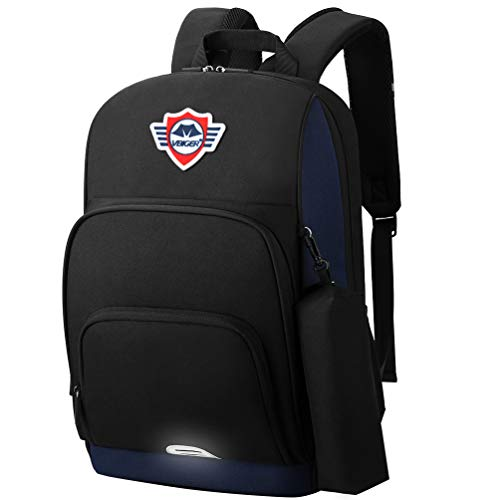 VBG VBIGER Boys School Backpack School Bag Book Bag for High Middle School Casual Daypack with Reflective Strips and Chest Strap