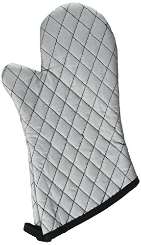 RITZ Heavy Duty 100% Cotton Silicone Coated Grilling Oven Mitt, 14-Inch - John Ritzenthaler Towel