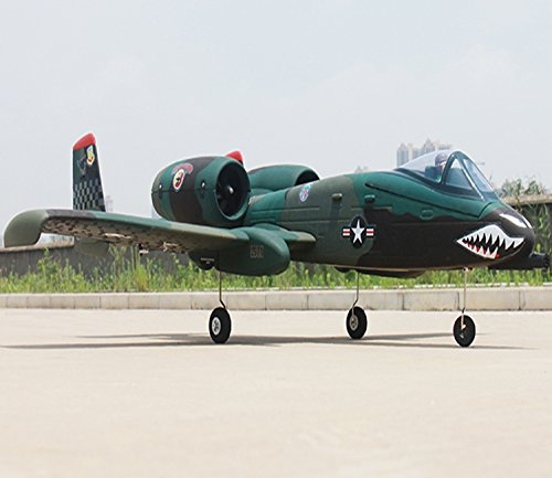 DYNAM A-10 Thunderbolt Green 64mm EDF Jet – SRTF