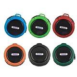 Mini Outdoor Wireless Bluetooth Waterproof Speaker W/ Mic Camping Beach Green