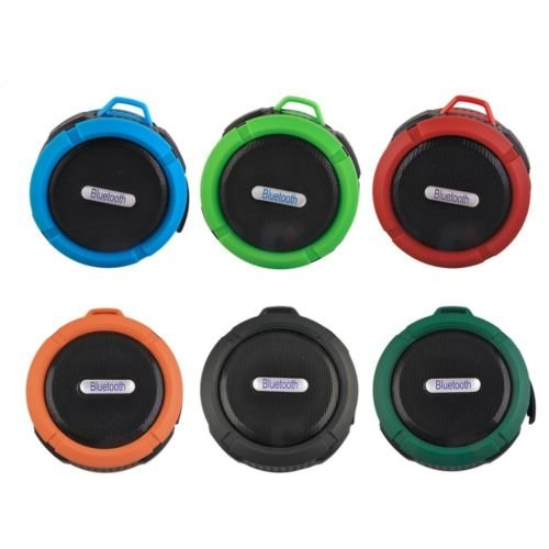 Mini Outdoor Wireless Bluetooth Waterproof Speaker W/ Mic Camping Beach Green by ClassicGameSource