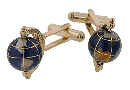 JJ Weston Spinning Globe Cufflinks product image