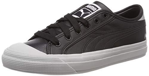 (Puma Women's Capri Metallic WN's Low-Top Sneakers, Black, 4.5 UK)