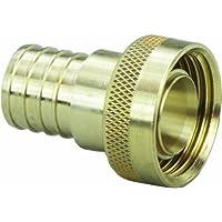 Viega 46416 PureFlow Zero Lead Brass PEX Crimp Supply Adapter with 1-Inch by 1 Crimp x Manabloc Supply by Viega