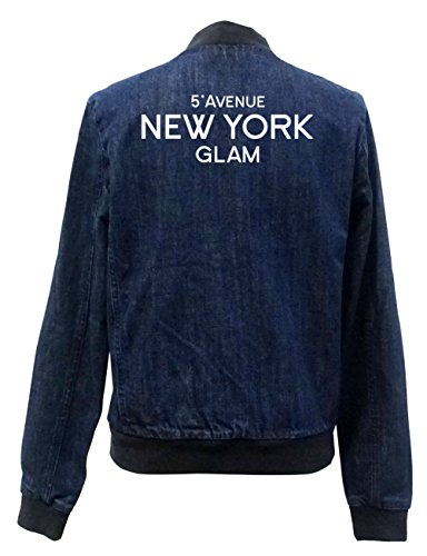 5th Bomber Jeans Freak Girls Chaqueta Avenue Certified New York Glam PZikOuXT