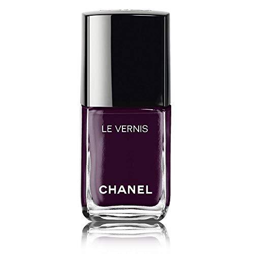 (Chanel Le Vernis Longwear Nail Colour 628 Prune Dramatique for Women, 0.4 Ounce )