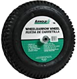 Arnold Contractor Wheelbarrow Knobby Tread 4.80 / 4.00 - 8 16'' Dia