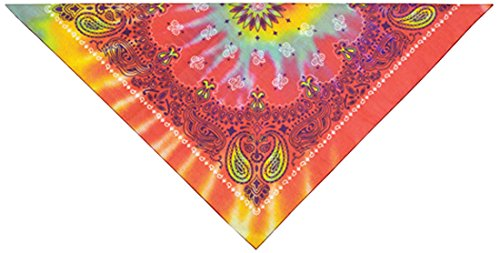 PetEdge Cotton/Polyester Paisley Dog Bandana, Tie Dye (Bandana Petedge)