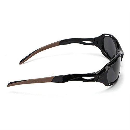 polarizada Hombre Lente Gafas magnesio para Que de Sol Sol Hombres conducen Black de la Tonos Vendimia del del Gafas Aluminio brown JCH de Gafas Accesorios la wIq8Pp6zx