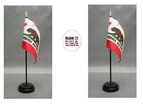 (Made in The USA. 2 California 4
