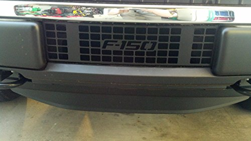 (Mountains2Metal 2009-2014 Ford F-150 Powder Coated Black Bumper Grille Insert)