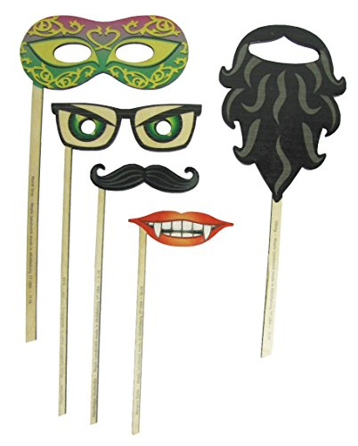 Silly Sticks 5 Piece Assorted Pack - Made in USA ()