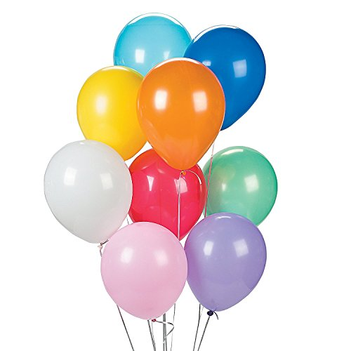 Assorted Color Balloons (144 pcs)