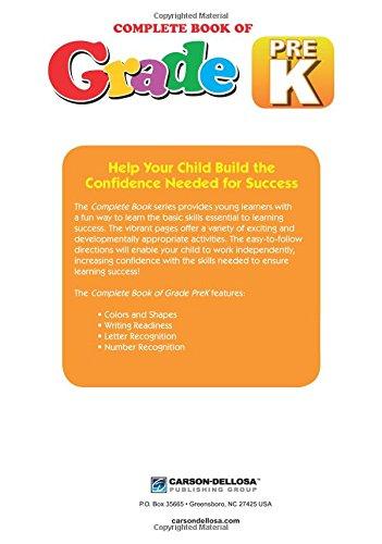 Amazon.com: Complete Book of PreK (9781483813042): Thinking Kids ...