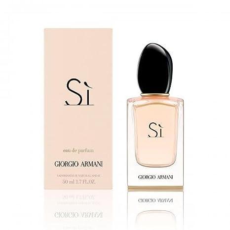 Giorgio Armani SI Eau De Parfums Spray for Women, 3.4 Ounce