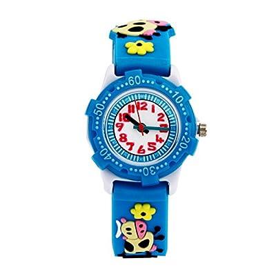 AIJUN 3D Girls Boys Watches Silicone Cute Cartoon Digital Quartz Wristwatches Time Teacher fo Kids Best Ideal Gifts from AIJUN