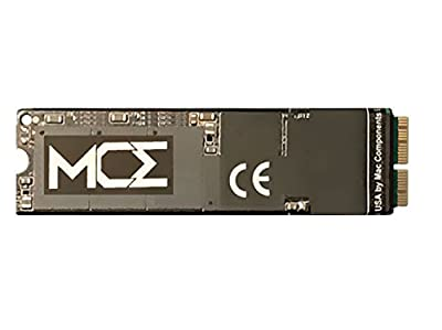 "MCE 512GB SSD for MacBook Pro (Retina, 15"", Mid 2015) Only: PCIe-Based 4 Lane (x4) NVMe 8.0GT/s SSD Flash Storage Upgrade - 2900MB/s Read, 2100MB/s Write, Requires macOS 10.13.x (High Sierra) or Later from MCE"