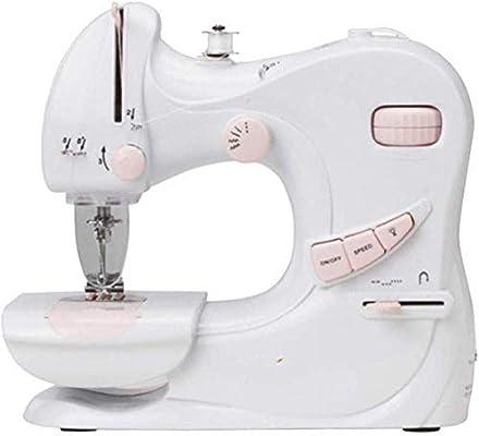 Máquina de coser portátil, linterna incorporada de coser eléctrica ...