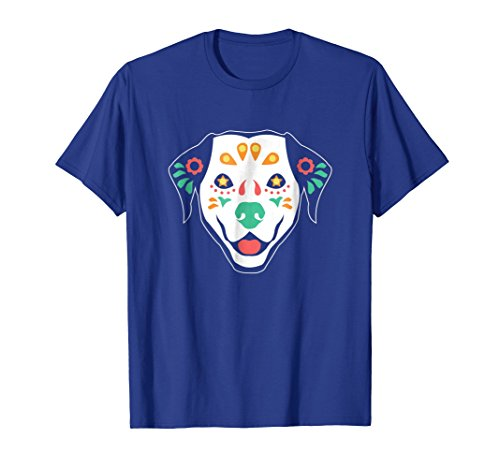 Sugar Skull Cinco De Mayo Dog T Shirt Labrador Shirt