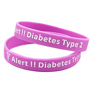 2019 New Style Diabetes Type 2 Diabetic Bracelet Black Blue Red Pink Us Seller Diabetes Care Health Care