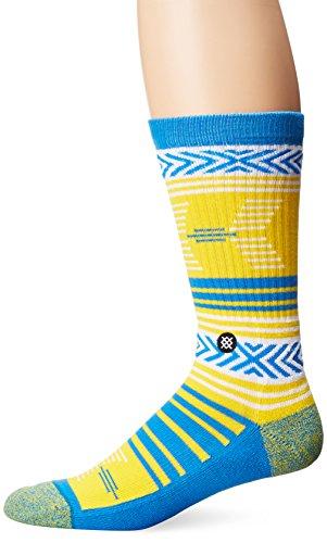 Stance Men's Mazed UCLA Classic Crew Large (shoe size 9-12) (Blue) - Ucla Socks Men