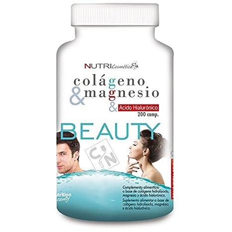 Nutrisport Colágeno y Magnesio - 200 Tabletas
