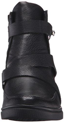 Aerosoler Kvinna Street Smart Boot Svart Läder