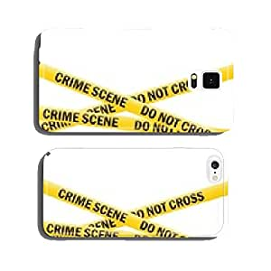 crime scene tape (vector) cell phone cover case iPhone6 Plus