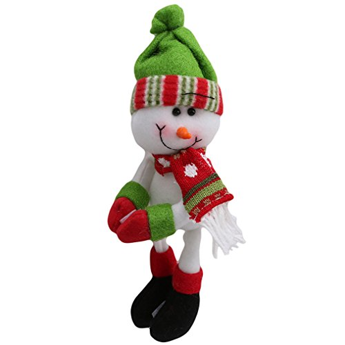 Yesido. Christmas Snowman Household Decoration Christmas Wine Bottle Cover