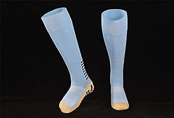 Parte superior calidad de Trusox Antideslizante Estilo Fútbol Calcetines anti deslizamiento calcetines de fútbol rodilla calcetín algodón deporte calcetines ...
