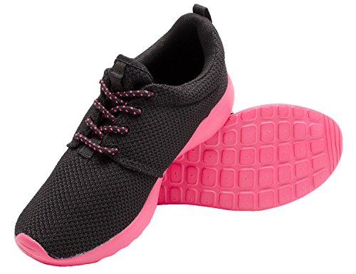 Santimon Womens Running Shoes Lightweight Floater Couple Sports Athletic Sneaker Rose xngZTwPI