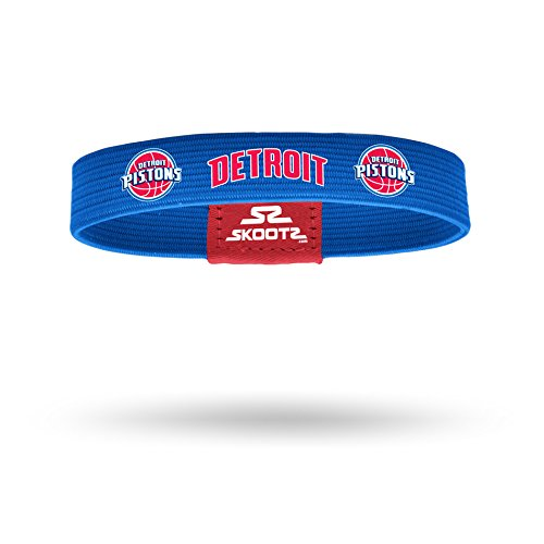 fan products of Officially Licensed NBA Wristbands (Medium, Detroit Pistons)