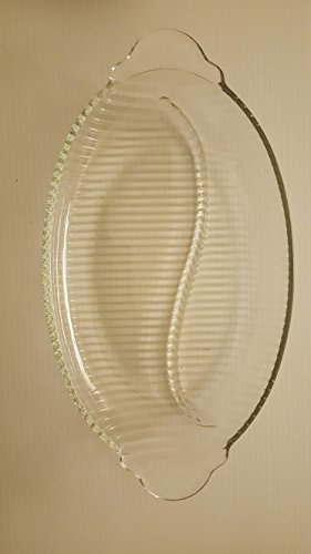 (Vintage Monaco divided relish plate)